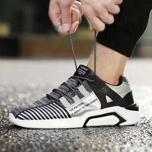 Knitted Soft Running Sneakers