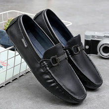 New Two-layer Cowhide Men's Casual Shoes