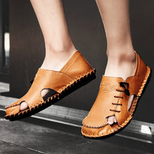 Casual Real Leather with Breathable Sandals