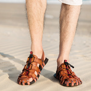 Air Permeability And Anti-skid Men's Sandals