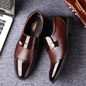 Hollow Out Breathable Business Shoes