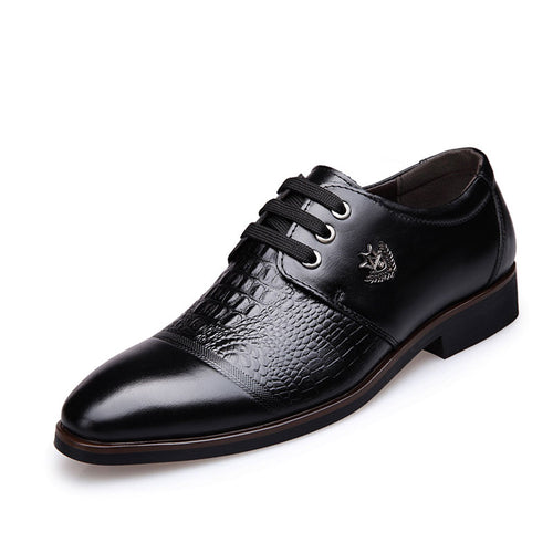 Business Design With Pointed Tip Men's Dress Shoes