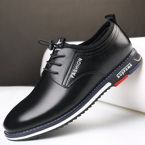 Comfortable Inner Elevation Tie Men's Casual Shoes