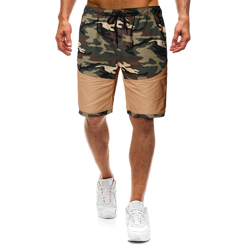 Camouflage Splice Tether Men's Pants