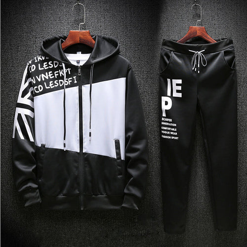 Casual Long Sleeve Men's Sports Suit