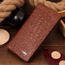 Men's High Quality Crocodile Leather Wallets