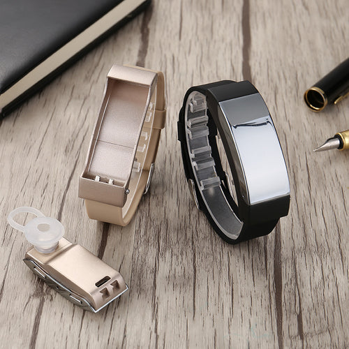 K2 Bracelet Bluetooth Headset Two In One Smart Phone Watch Earphone
