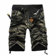 Camouflage Loose Pleated Men's Pants