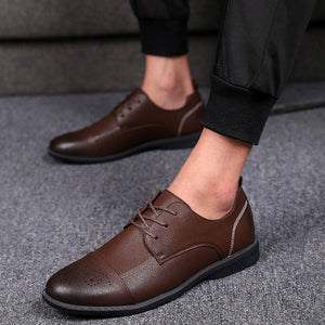Young British Band Business Men's Dress Shoes