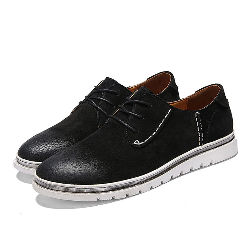 Breathable Wear Resistant Rubber Men's Casual Shoes