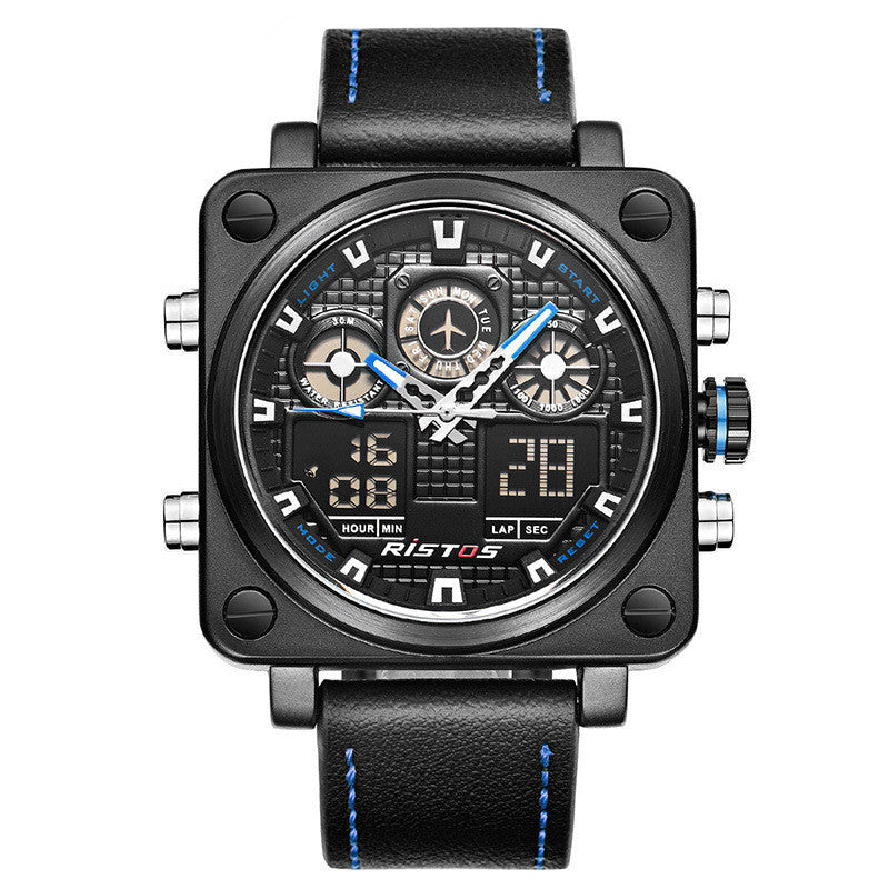 Multi-functional Sports Casual  Square  Watch
