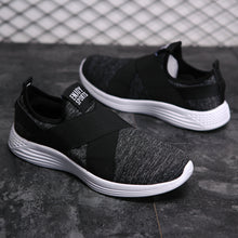 Breathable Solid Color Massage Men's Sneakers