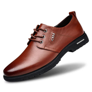 Non-slip Business Soft Round Tie Men's Oxfords