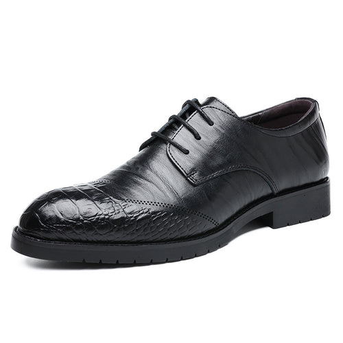 Cowhide Soft Surface Comfortable Men's Formal Shoes
