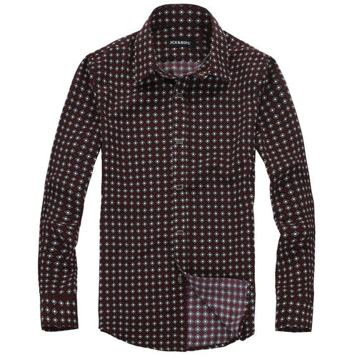 Leisure, Body-building And Long Sleeves Men's Shirts