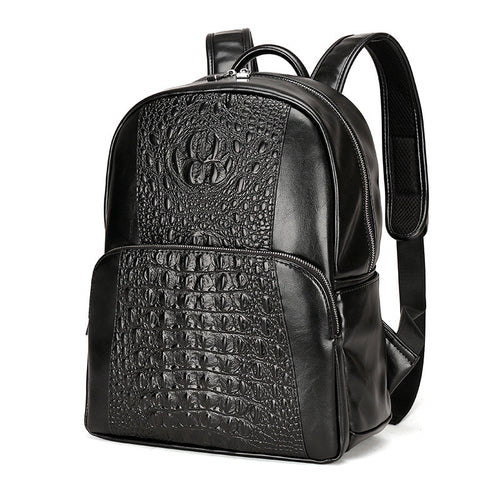 Croco High Capacity Zipper Men's Bags