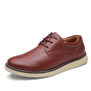 Retro Carved  Business Casual Shoes