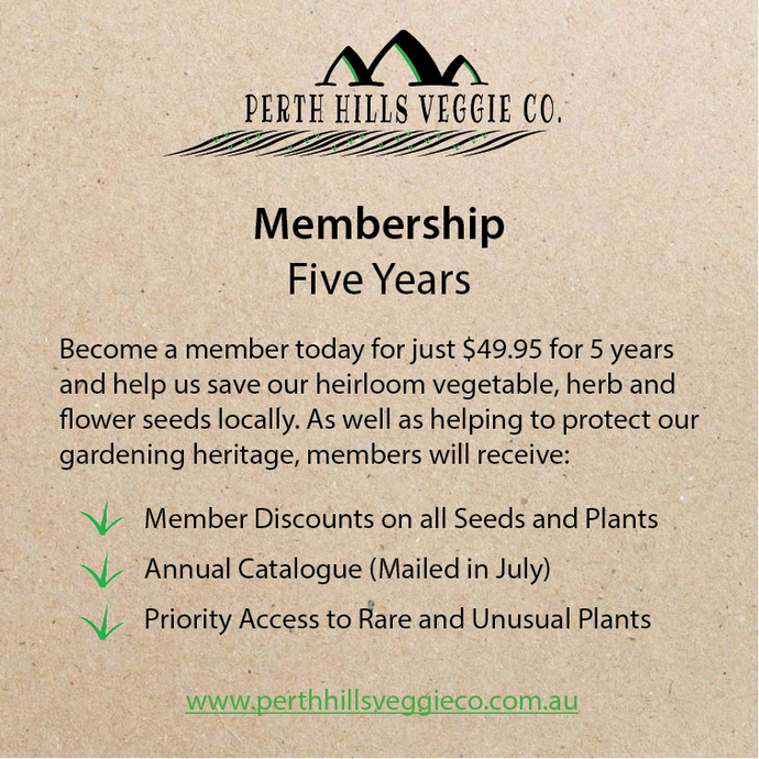Membership - Five Years