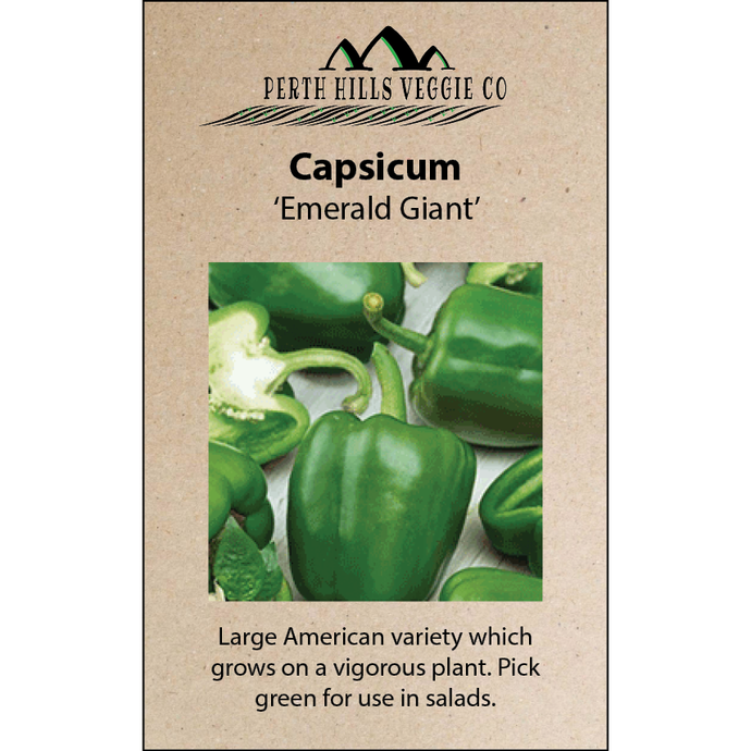Capsicum 'Emerald Giant'