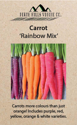 Carrot 'Rainbow Mix'