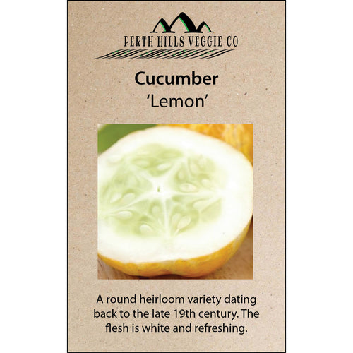 Cucumber 'Lemon'