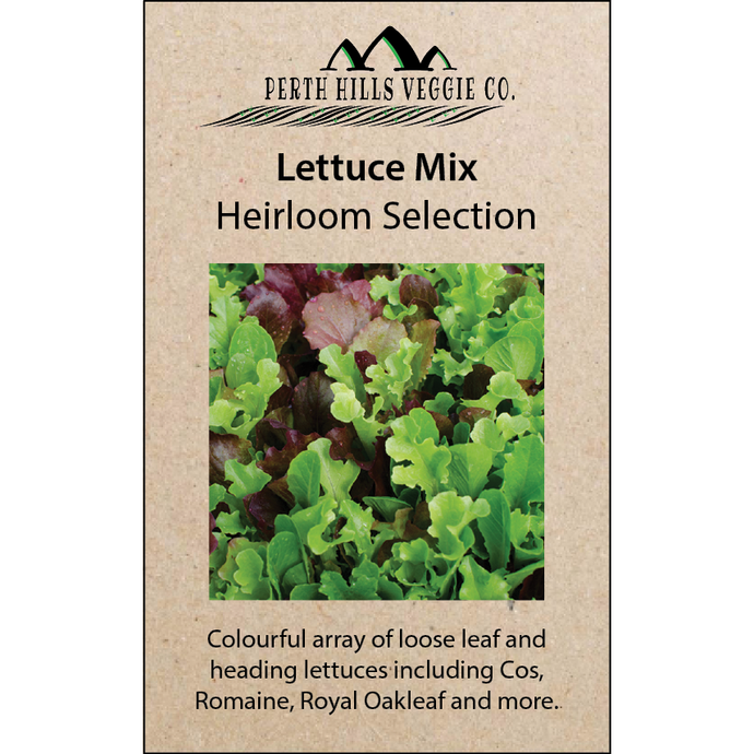 Lettuce Heirloom Mix