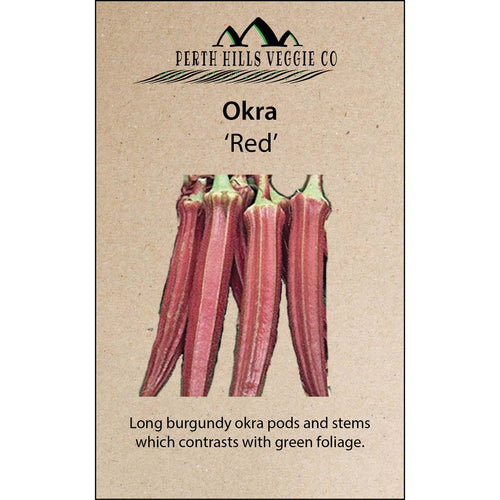 Okra 'Red'