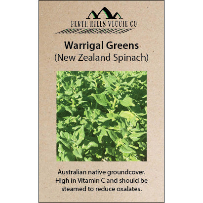Warrigal Greens (New Zealand Spinach)