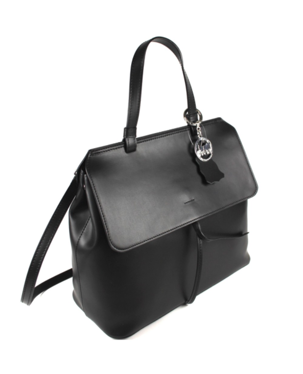 Black Alba Luxury Tote Handbag