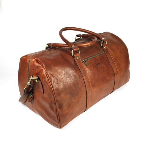 Burton Messenger Leather Bag