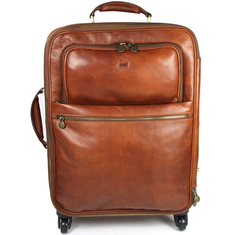 Bramwell Leather Satchel Briefcase