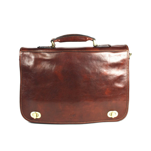 Brooke Leather Satchel Briefcase