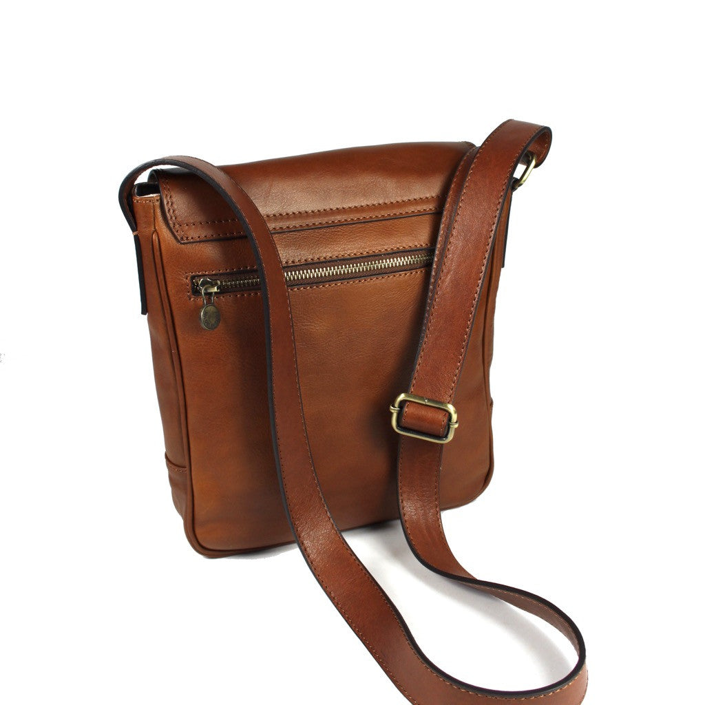 Atwood Leather Messenger Bag