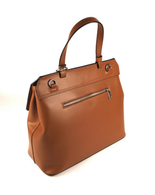 Tan Alba Luxury Tote Handbag