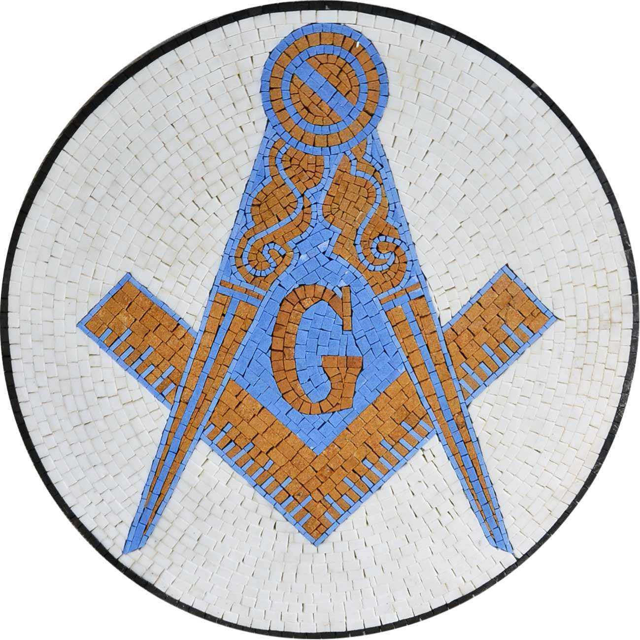 Custom Medallion of The Mason Symbol