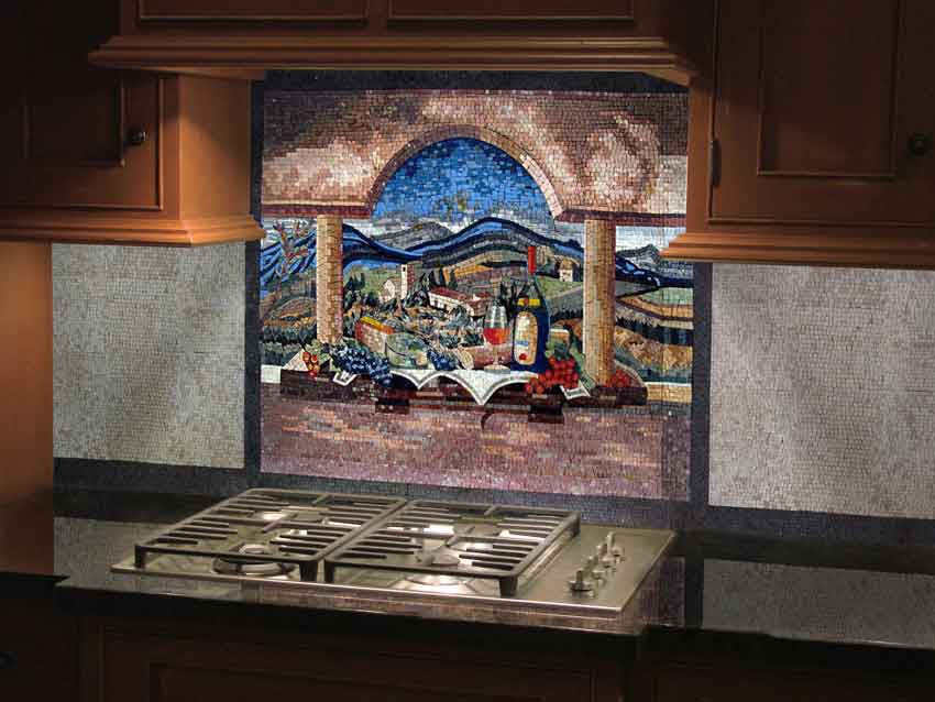 mosaic designs for kitchen decor