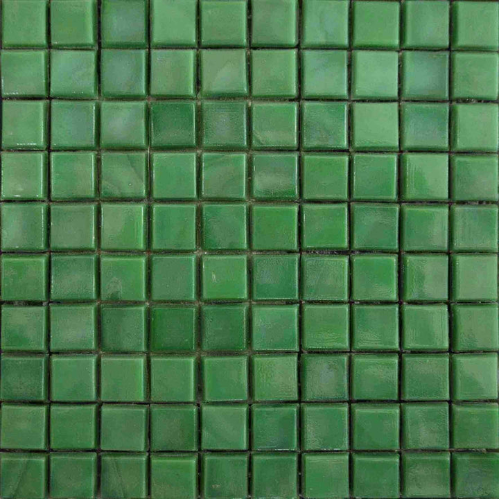 Mosaic Plain Sheet - Emerald