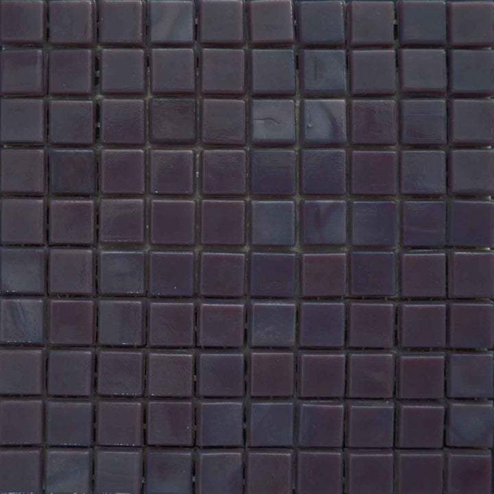 Mosaic Plain Sheet - Midnight blue