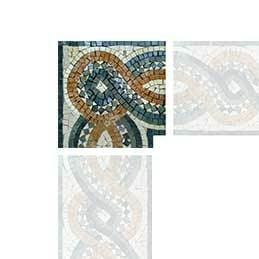Celtic Rope Mosaic Art Corner