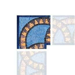 Arches Corner Mosaic Art Design