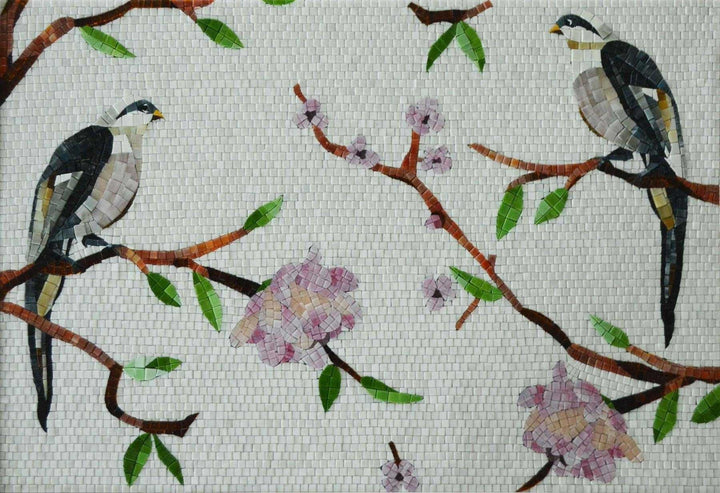 Mosaic Designs - Birds and Florals