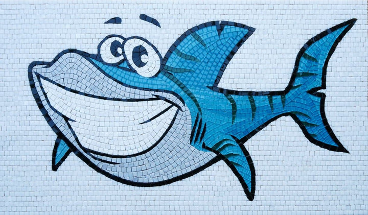 Chum Shark - Comic Mosaic