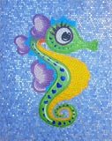 Martina the Seahorse - Comic Mosaic