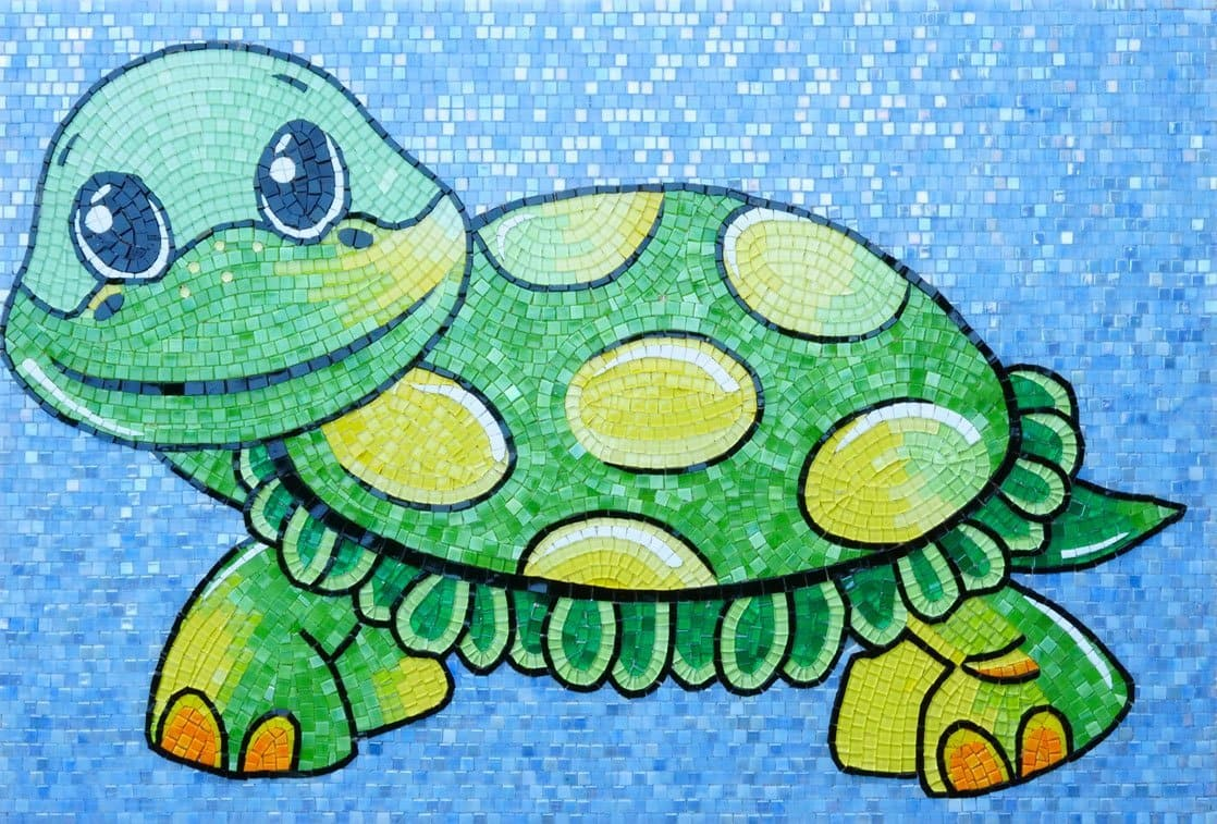 Franklin the Turtle - Comic Mosaic