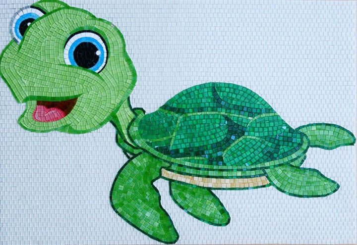 Fayola the Turtle - Comic Mosaic