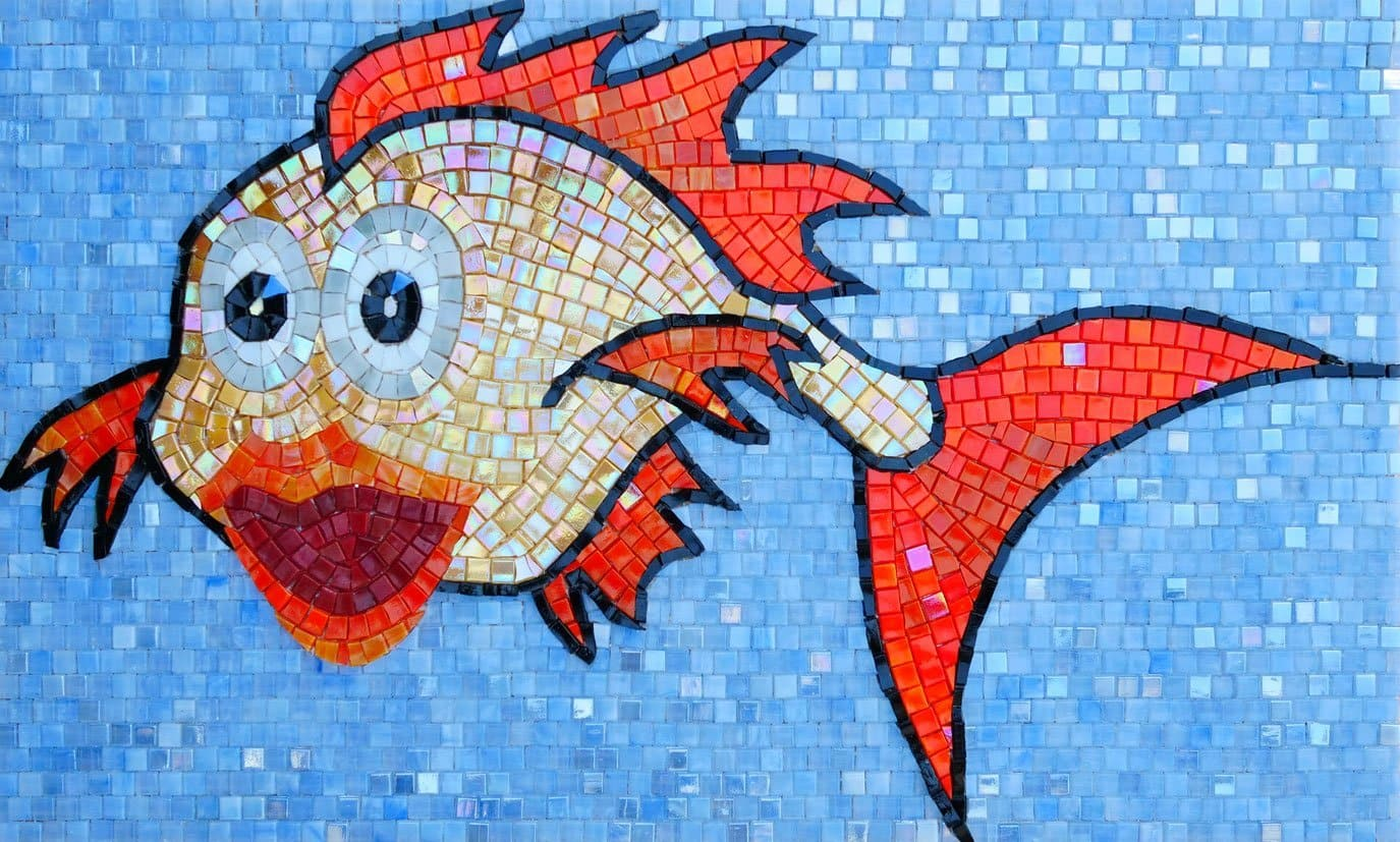 Possie The Fish Comic Mosaic Pic