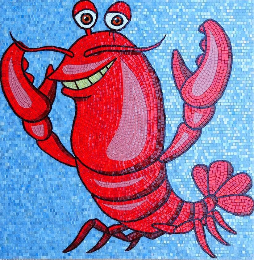 Fran�ois The Lobster Comic Mosaic Pic