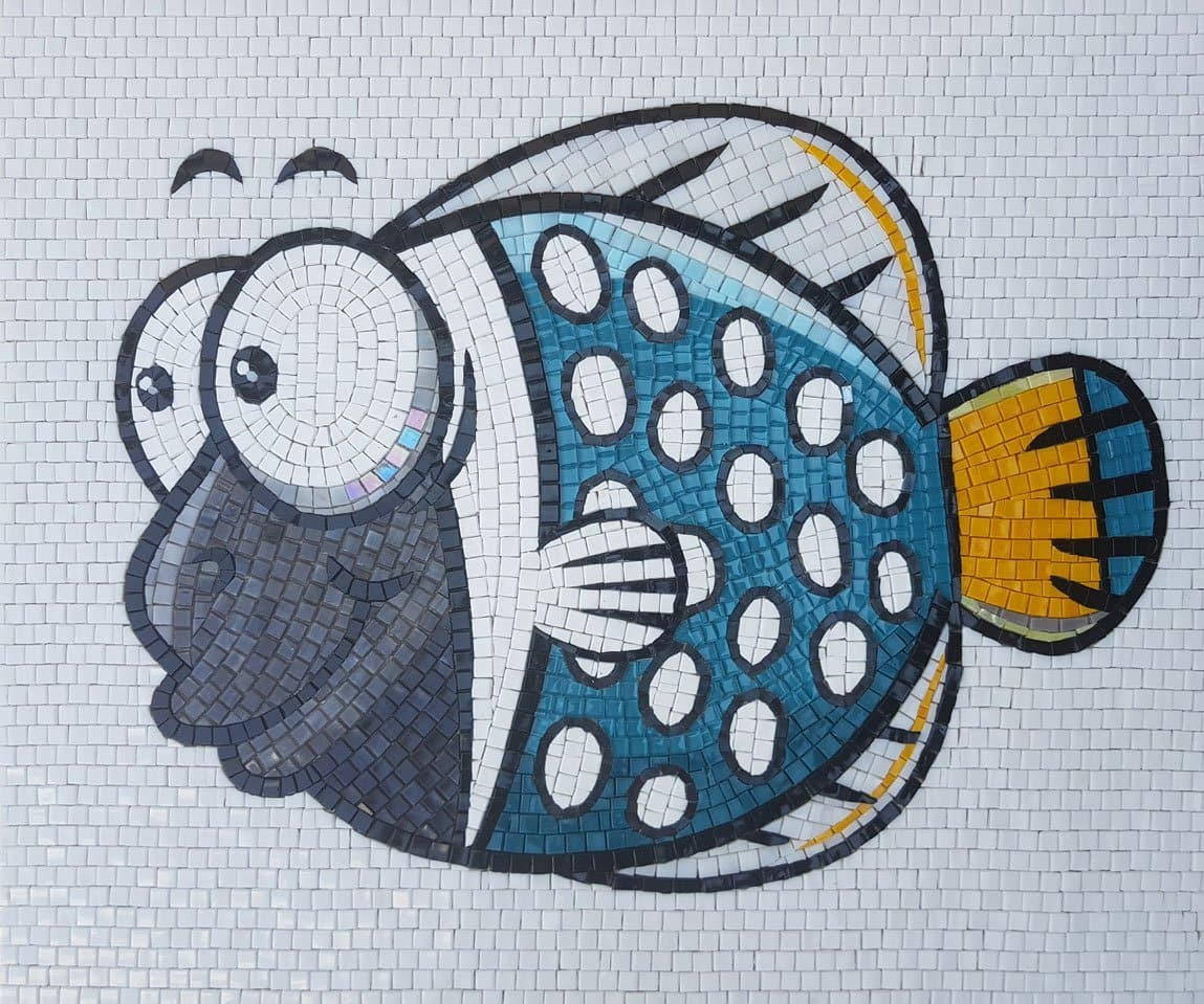 Gobley The Fish Comic Mosaic Pic