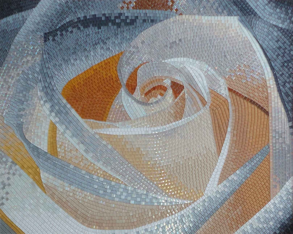 Mosaic Art - Pure Rose