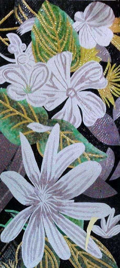 Mosaic Designs - Glass Flowers